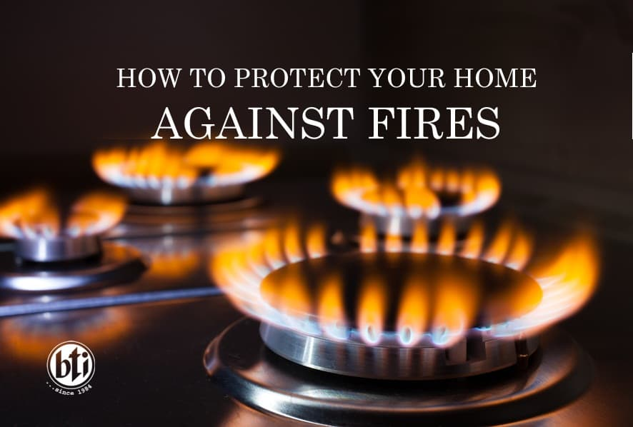 protect your home against fires