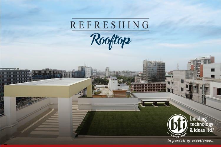 Rooftop refreshing