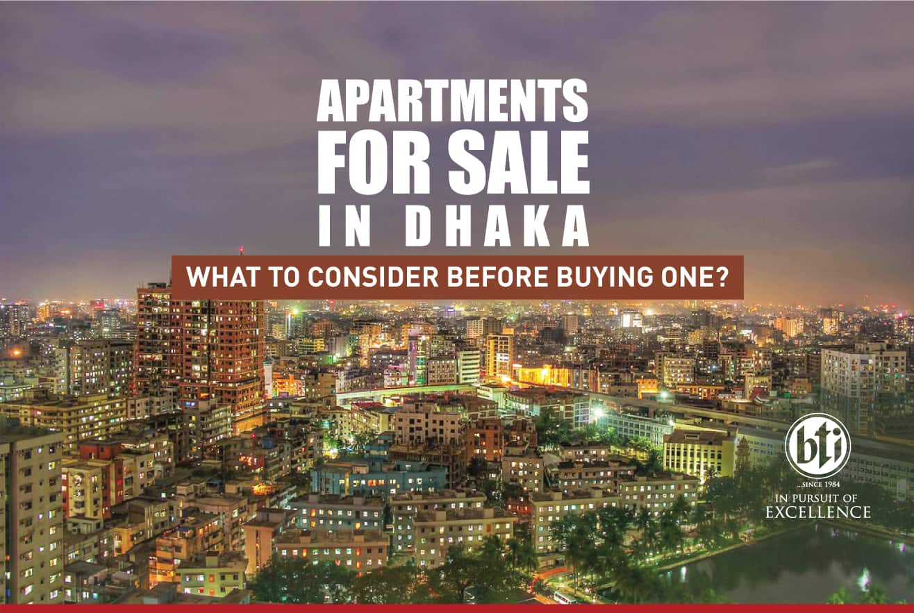Apartments for sale in Dhaka