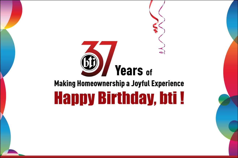 bti 37 years