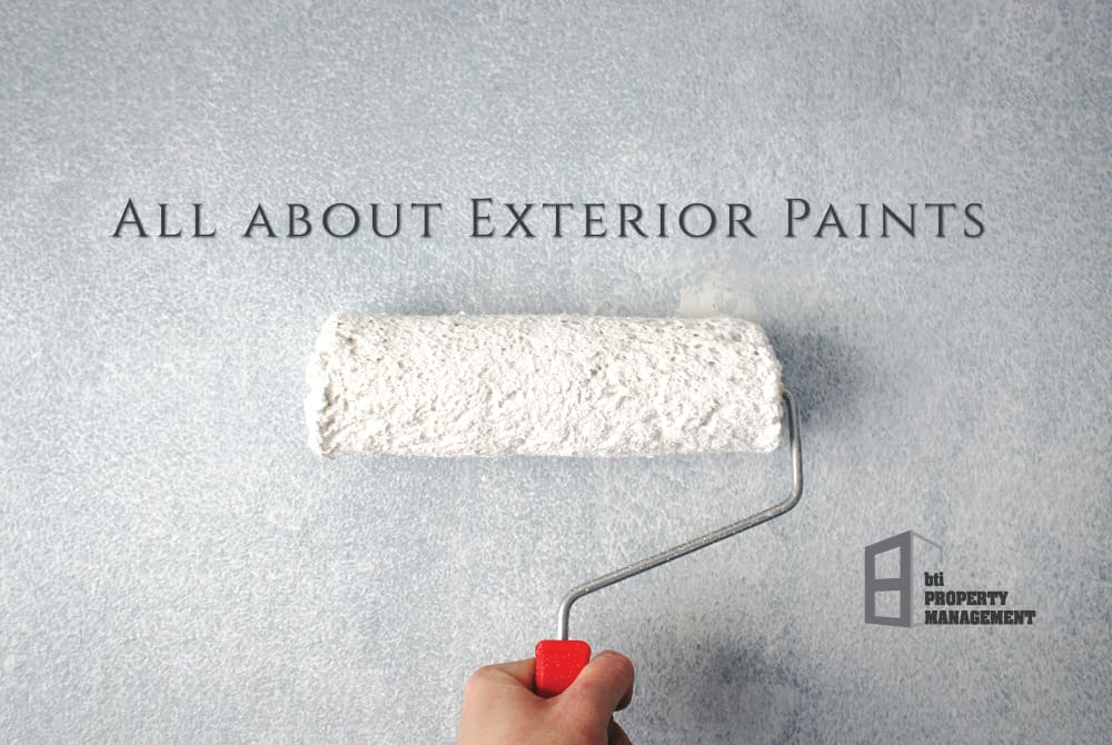 All about Exterior Paints